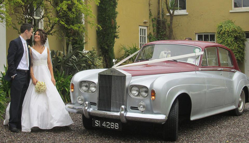 Vintage Wedding Car, Cork